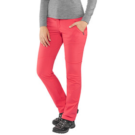 Columbia Passo Alto Pants Women Regular Red Camellia